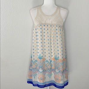 Blu Pepper Paisley Tunic Dress